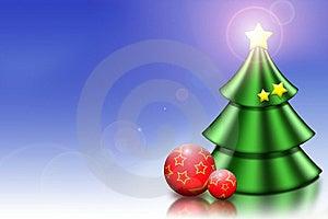 Christmas tree Free Stock Image