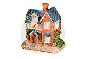 Miniature Home. Stock Photo - Image: 6821770
