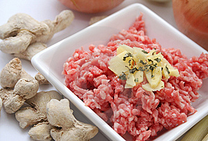 Fresh Meat Stock Image - Image: 6821821