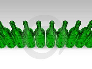 Green Bottles Stock Photography - Image: 6822072