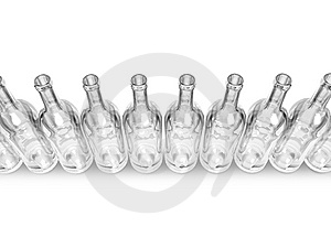 Clear Bottles Stock Photos - Image: 6822083