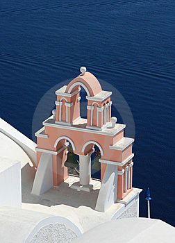 Orthodox Church In Santorini Stock Photos - Image: 6822423