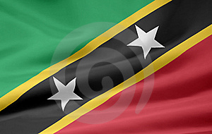 Flag Of The Saint Kitts And Nevis Stock Photos - Image: 6823123
