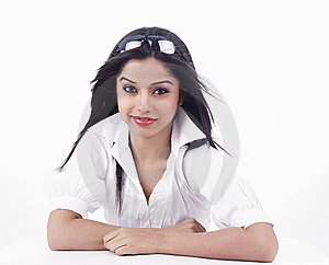 Asian Girl Of Indian Origin Stock Photography - Image: 6823322