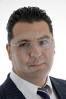 Caucasian Businessman With Eyewear Stock Photo - Image: 6824410