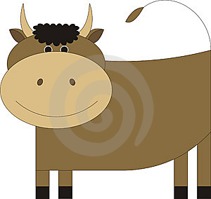 Bull 1 Stock Photography - Image: 6825542