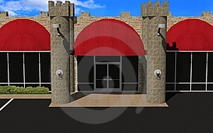Renaissances Retail Center Royalty Free Stock Photo - Image: 6826445