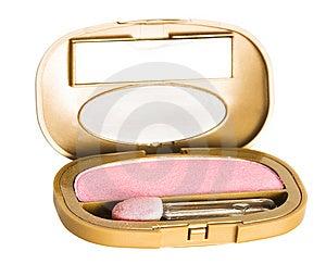Pink Make-up Eyeshadows Stock Image - Image: 6828721