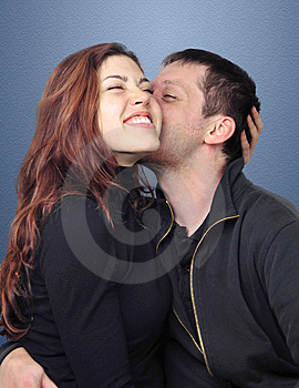 Young Couple Kissing Stock Images - Image: 6829524