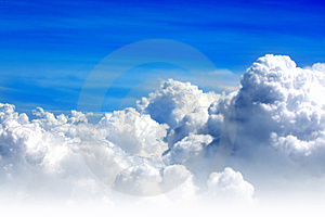 Blue Sky And Clouds Stock Photo - Image: 6830570