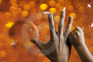 Two Hands Royalty Free Stock Photos - Image: 6831988