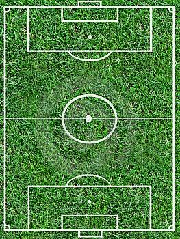 Passo do futebol Imagem de Stock