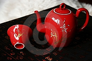 China Red Ceramic Royalty Free Stock Photos - Image: 6833088