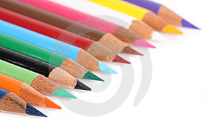 Colored Pencils Stock Images - Image: 6836294