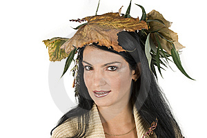 Miss Autumn Royalty Free Stock Photo - Image: 6839385