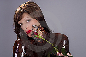Chocolate Brunette Stock Photography - Image: 6840142