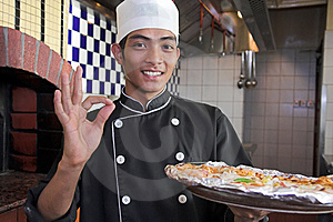 Cooking Pizza Royalty Free Stock Photography - Image: 6841127