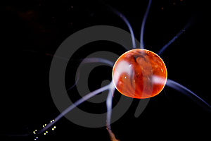 Plasma And Energy Ball Stock Image - Image: 6841881
