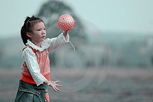 Playing Ball Royalty Free Stock Photos - Image: 6842308