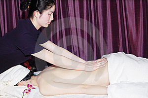 Massage In Beauty Salon Stock Photo - Image: 6842490