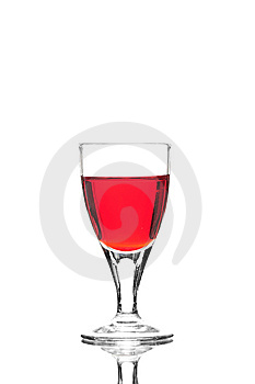 Coloured Cocktail Or Wine Royalty Free Stock Photo - Image: 6844015