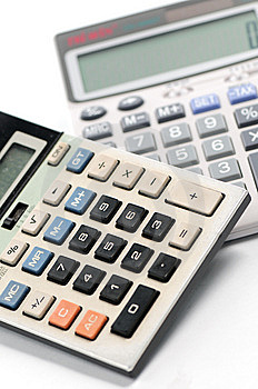 Calculation Tools - Calculators Stock Images - Image: 6844164