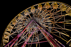 Ferris Wheel At The Fair Stock Images - Image: 6844464