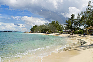 Tropical Beach. Stock Images - Image: 6844884
