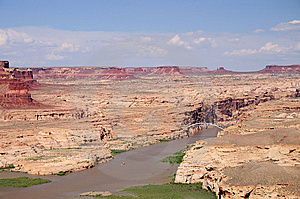 Hite View Over The Colorado River Stock Images - Image: 6845814