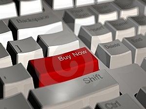 Buy Now Computer Keyboard Royalty Free Stock Image - Image: 6846446