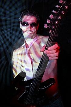 Guitarist Royalty Free Stock Image - Image: 6847086