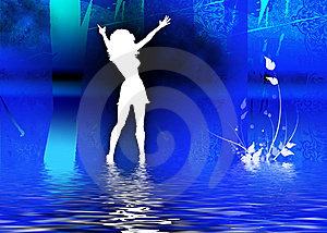 Night Club Girls Royalty Free Stock Images - Image: 6849809