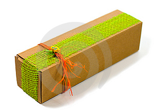 Cardboard Gift Box Royalty Free Stock Photography - Image: 6850117