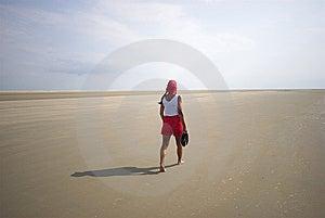 Walking In The Sun Stock Photo - Image: 6850480