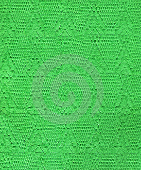 Green Knitting Cloth Royalty Free Stock Photos - Image: 6850958