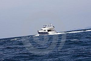 Cabin Cruiser Stock Images - Image: 6850994
