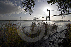 Danish Bridge Stock Image - Image: 6852621