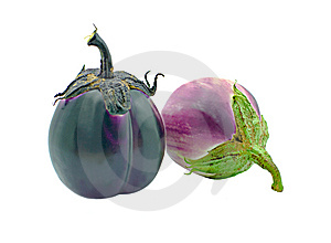 Eggplants Royalty Free Stock Images - Image: 6854599