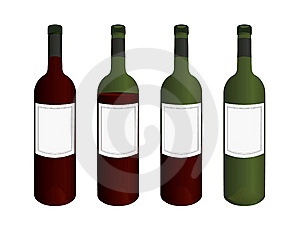 Wine Bottles Stock Images - Image: 6855994