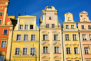 Historic Tenements Stock Image - Image: 6856001