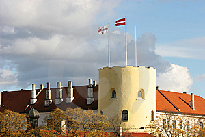 Riga Castle Royalty Free Stock Photography - Image: 6858057