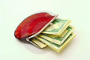 Geldbeutel Voll Dollar Lizenzfreie Stockbilder - Bild: 6860319