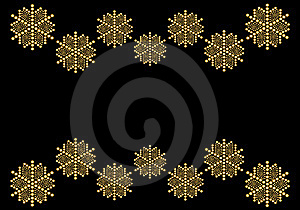 Contemporary Christmas Card Royalty Free Stock Photography - Image: 6861017