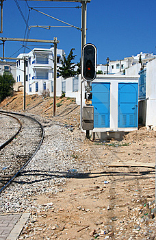 Tunis The Railway Royalty Free Stock Photos - Image: 6862518