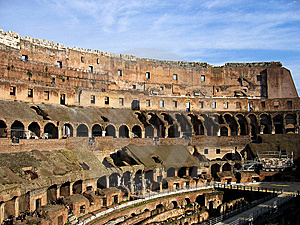 Inside Rome Colloseum Stock Photography - Image: 6863062