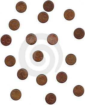 European Coins Stock Photos - Image: 6863383
