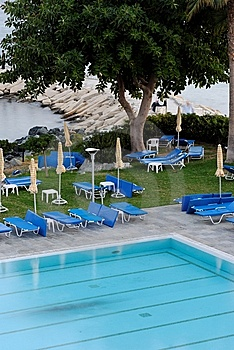 Swimmingpool Stockfoto - Bild: 6865330