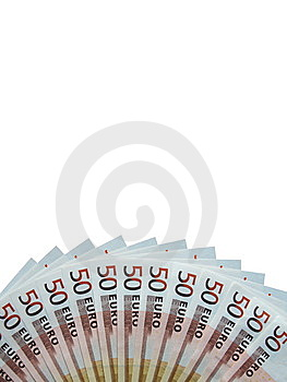 Fifty Euro Banknotes Royalty Free Stock Photo - Image: 6866205