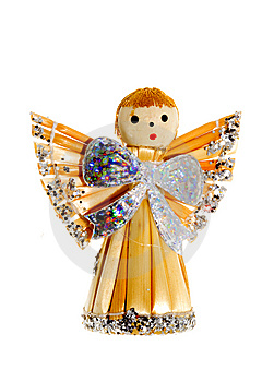 Straw Christmas Decoration Royalty Free Stock Photo - Image: 6866275