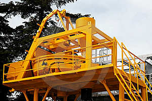 Construction Plant Royalty Free Stock Photography - Image: 6867117